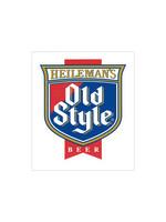 Old Style Old Style Shield Logo Sticker
