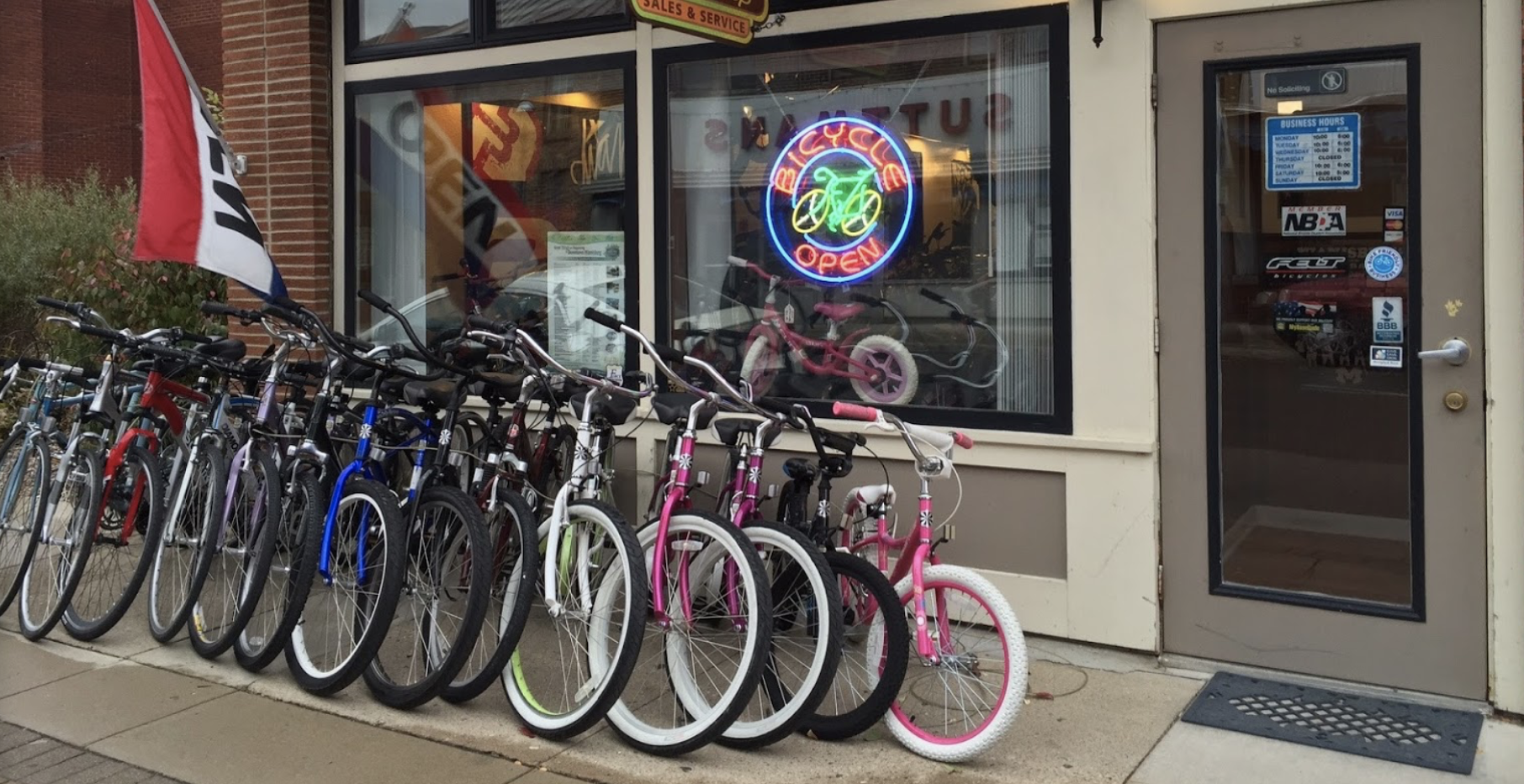 Welcome To Whitman's Bike Way Bike Shop