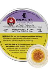 Premium5 Premium 5 - Glueberry OG Live Resin Caviar - 0.5G