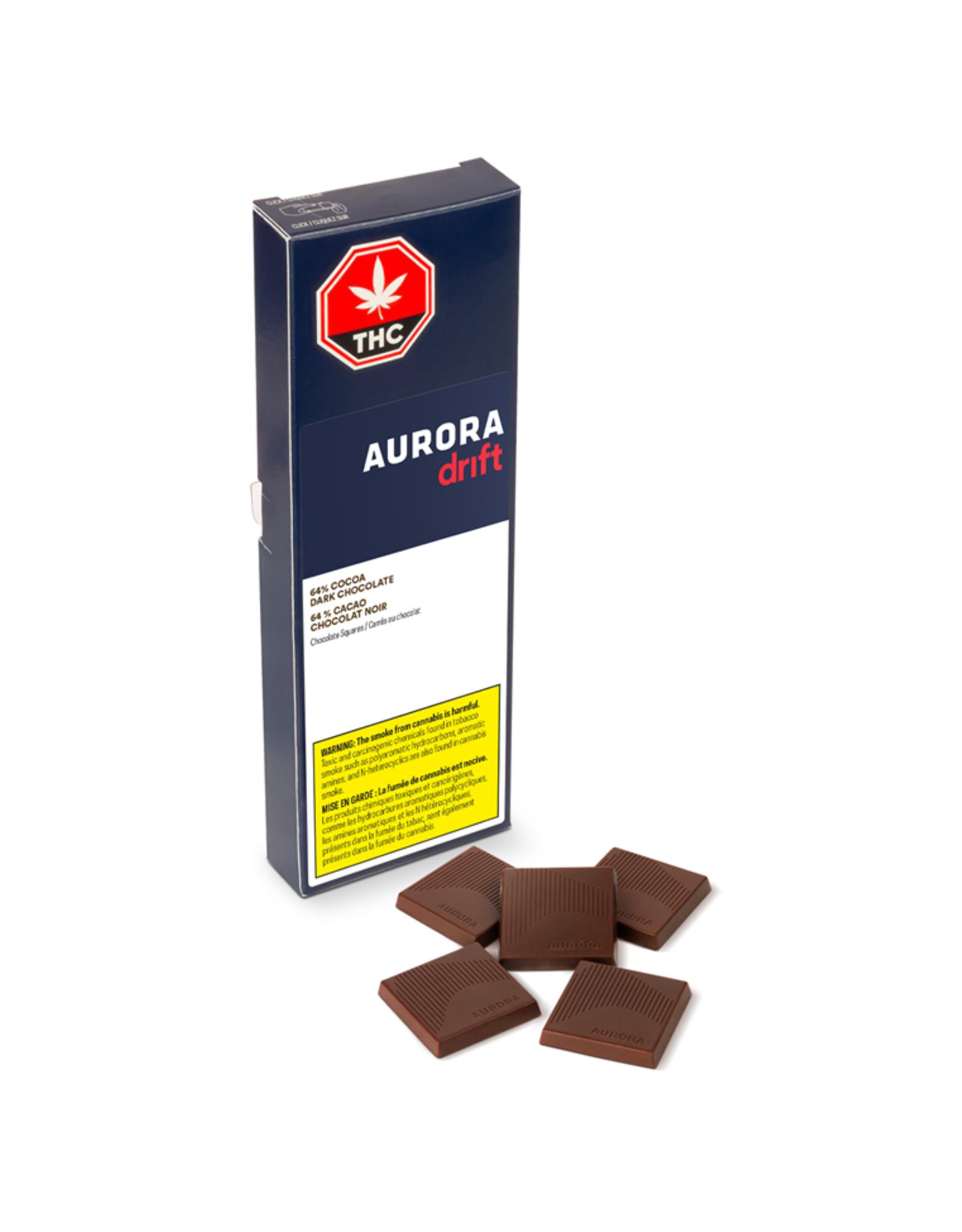 Aurora Drift - 64% Cocoa Dark Chocolate Bar