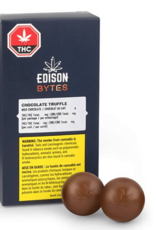 Edison Cannabis corp. Byte Truffle - Dark Chocolate (Duo Pack)