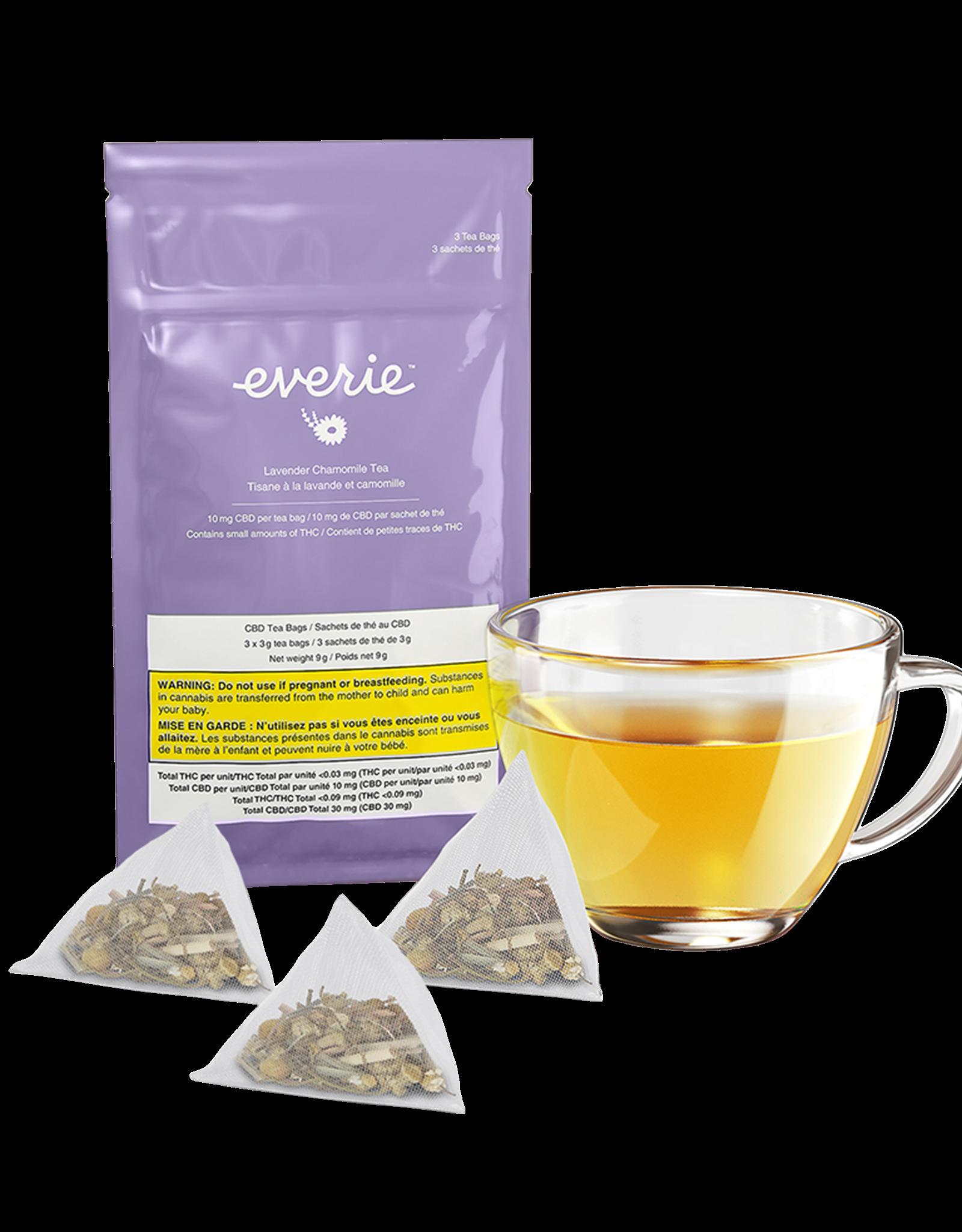 Everie Everie - Lavender Chamomile CBD Tea 3Pk