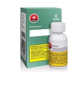 Emerald Health Therapeutics Emerald Health - Sync 25 CBD Oil (20ml)