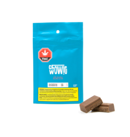 Chowie Wowie Chowie Wowie THC/CBD Solid Milk Chocolate**