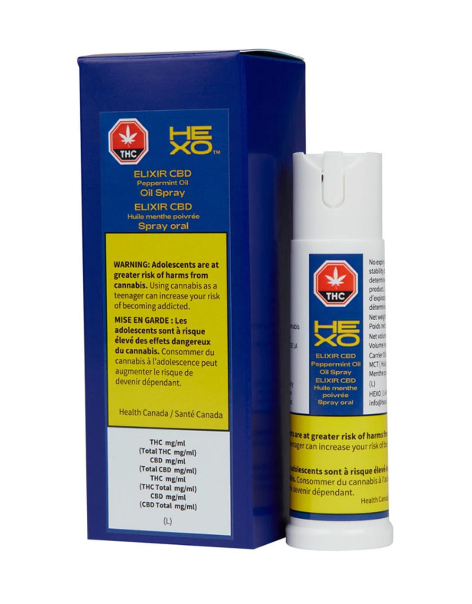 Hexo Hexo - Elixir CBD Peppermint Oral Spray 15ml