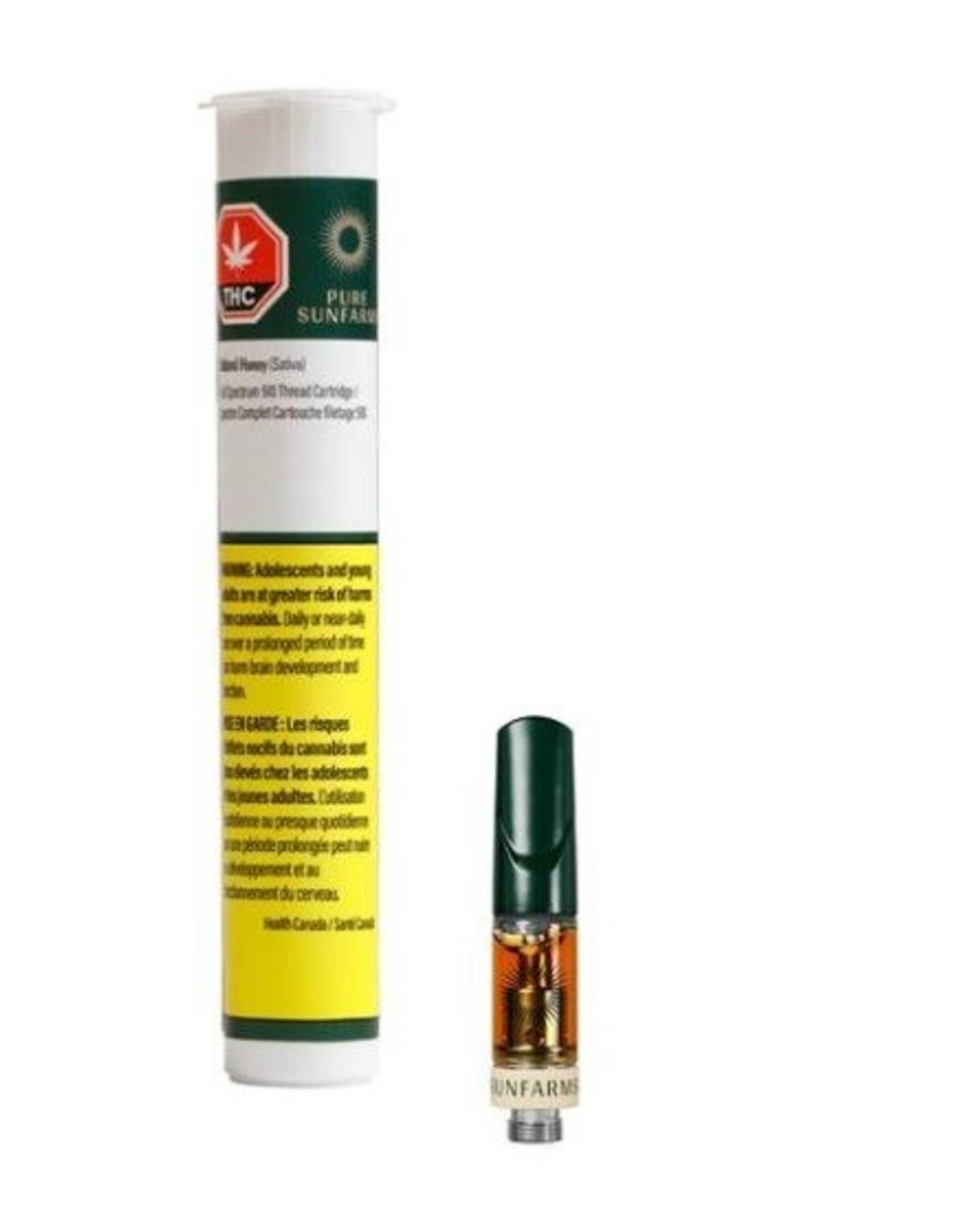 Pure Sunfarms Pure Sunfarms - Island Honey - 0.5g 510 Cartridge
