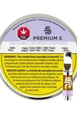 Premium5 Premium5 - Maple Bert Live Resin X - 0.5g 510 Cartridge