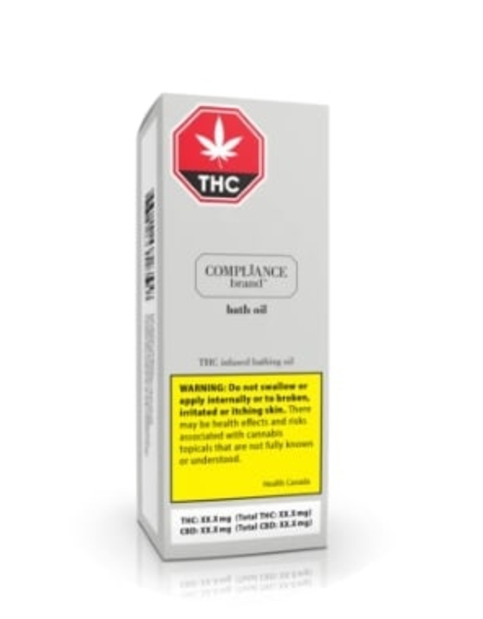 Compliance Compliance - Bath Oil - 53.2G