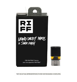 Riff RIFF - Grand Daddy Purps X Sour Kush - 0.5g PAX Pod**