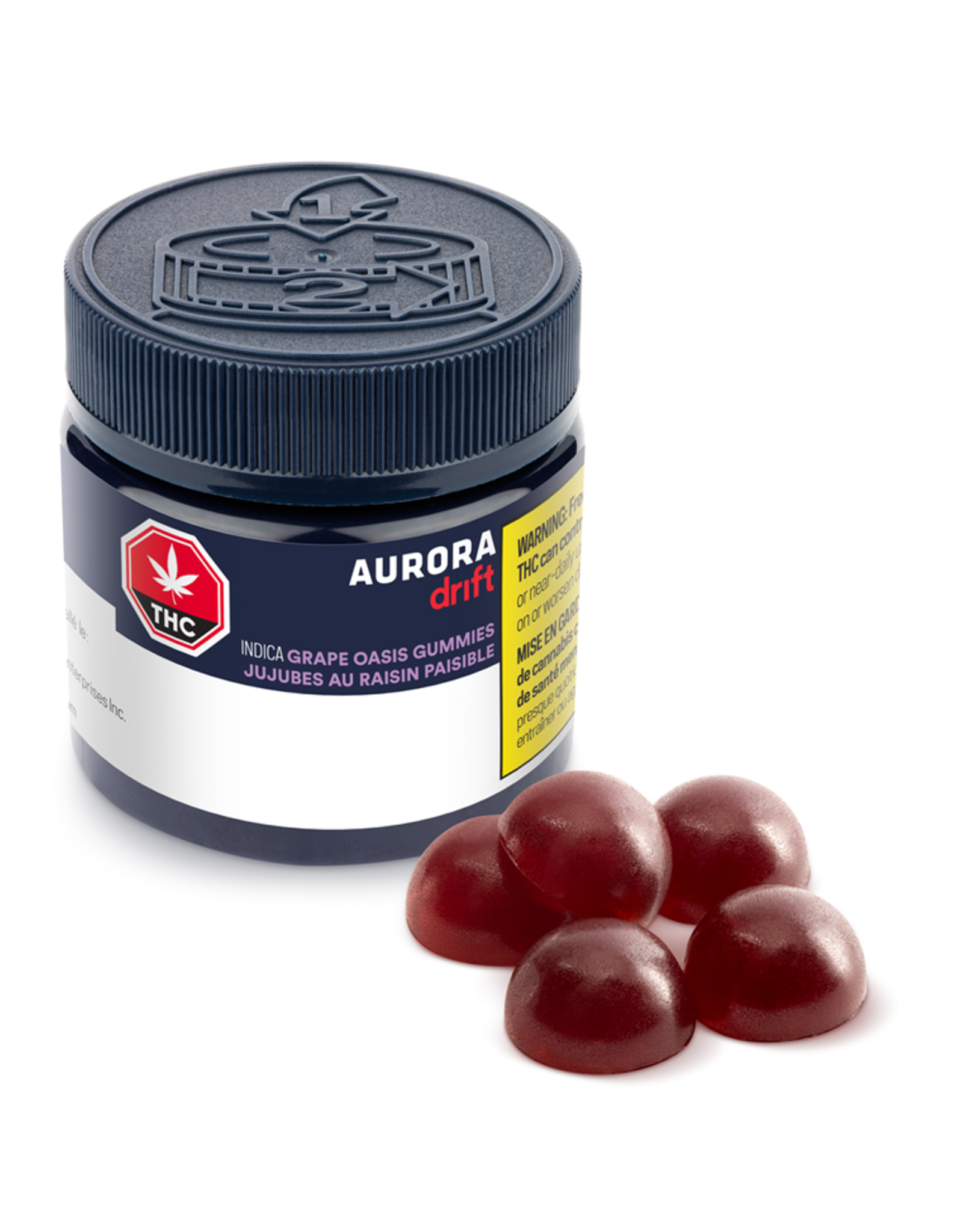 Aurora Aurora Drift - Grape Oasis Gummies