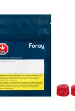Foray - Raspberry Vanilla Gummies 2 pc 10G