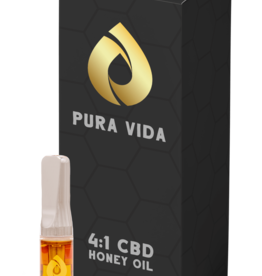 Pura Vida Pura Vida - CBD 4:1 Honey Oil - 0.5g 510 Cartridge