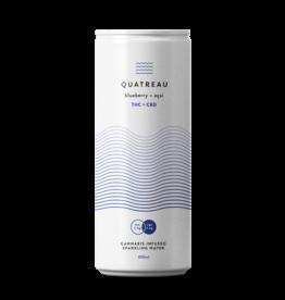 Quatreau Quatreau - Blueberry + Acai Drink