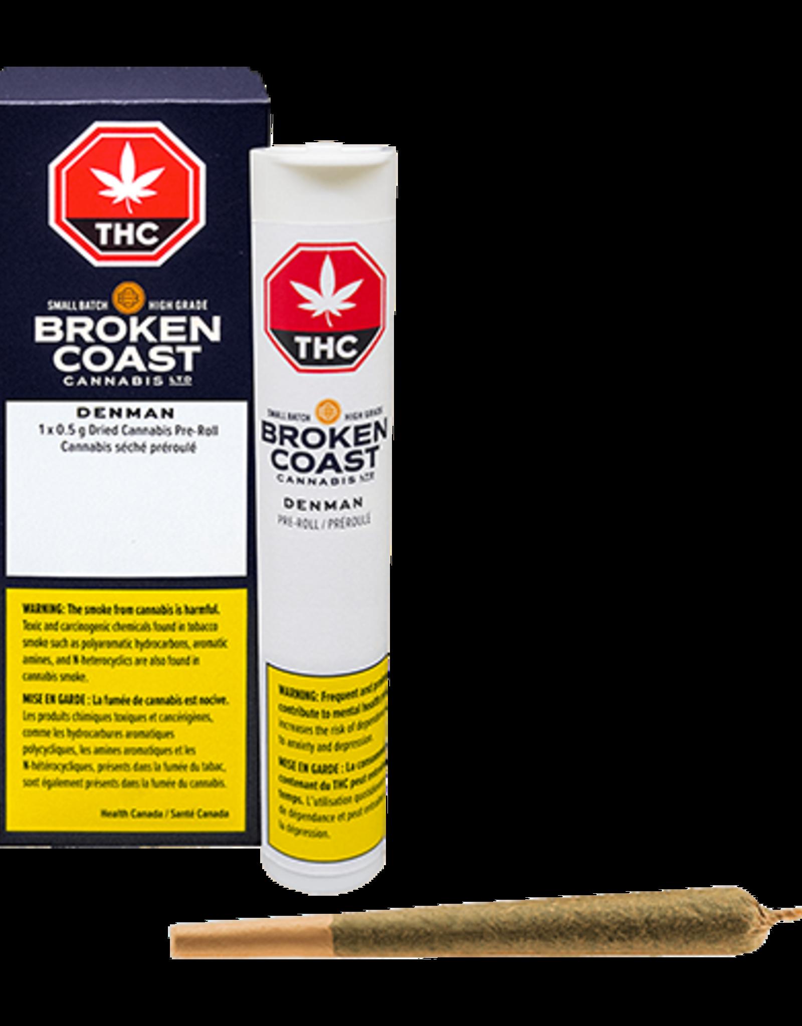 Broken Coast Broken Coast - Denman Pre-roll - 1pck