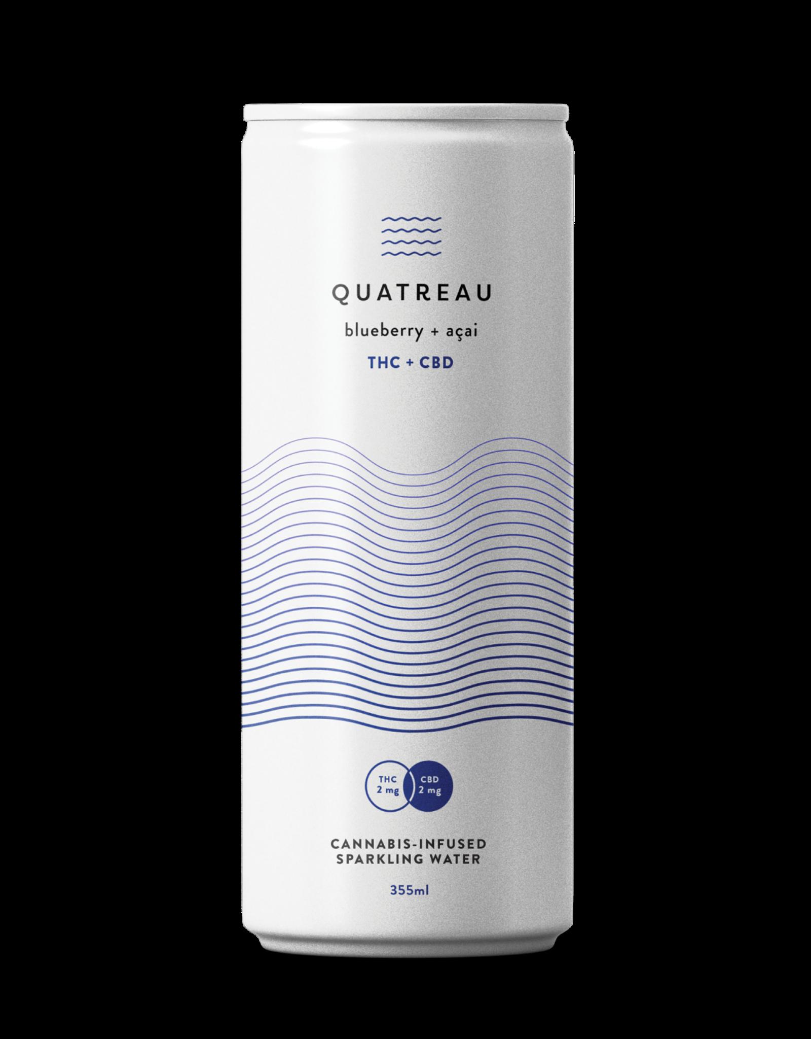 Quatreau **Quatreau - Blueberry + Acai Drink