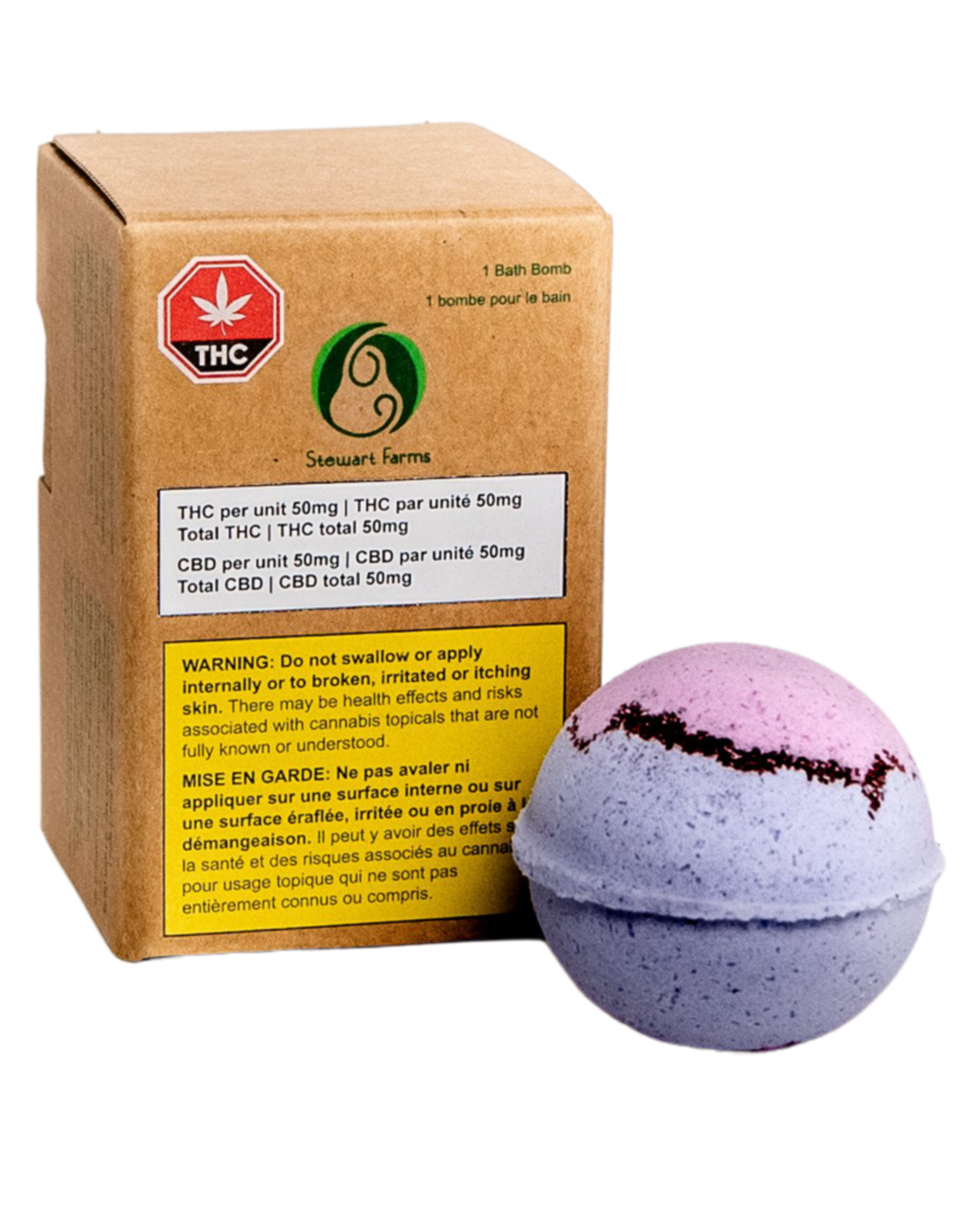 Stewart Farm Stewart Farms - Bubba Kush Bath Bomb