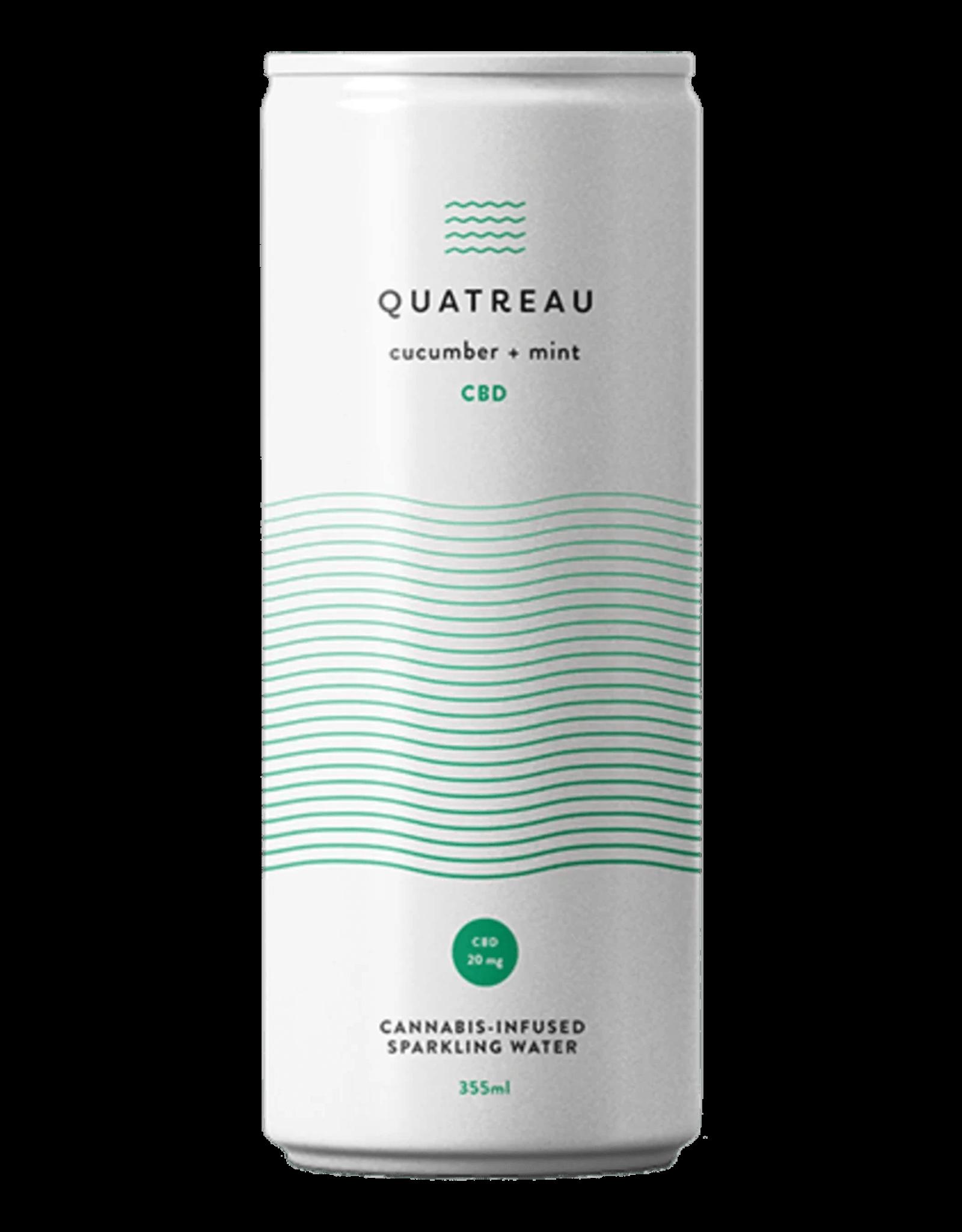 Quatreau **Quatreau - Cucumber + Mint Drink