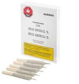 Aurora Aurora - THC Indica Aces - 5pck (Limited Time Offer)