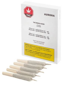 Aurora Aurora - THC Sativa Aces - 5pck (Limited Time Offer)