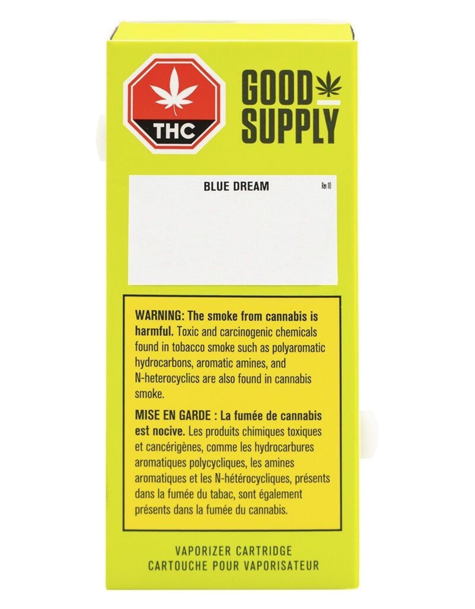 Good Supply - Blue Dream - 0.5g 510 Cartridge