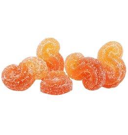 Spinach Spinach - Peach Orange 1:1 Sour Gummies