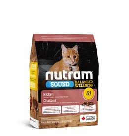 Nutram (S1) NUTRAM - Nourriture équilibré poulet saumon pour chaton