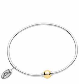 Sterling Silver 14KY Gold Cape Cod Bracelet