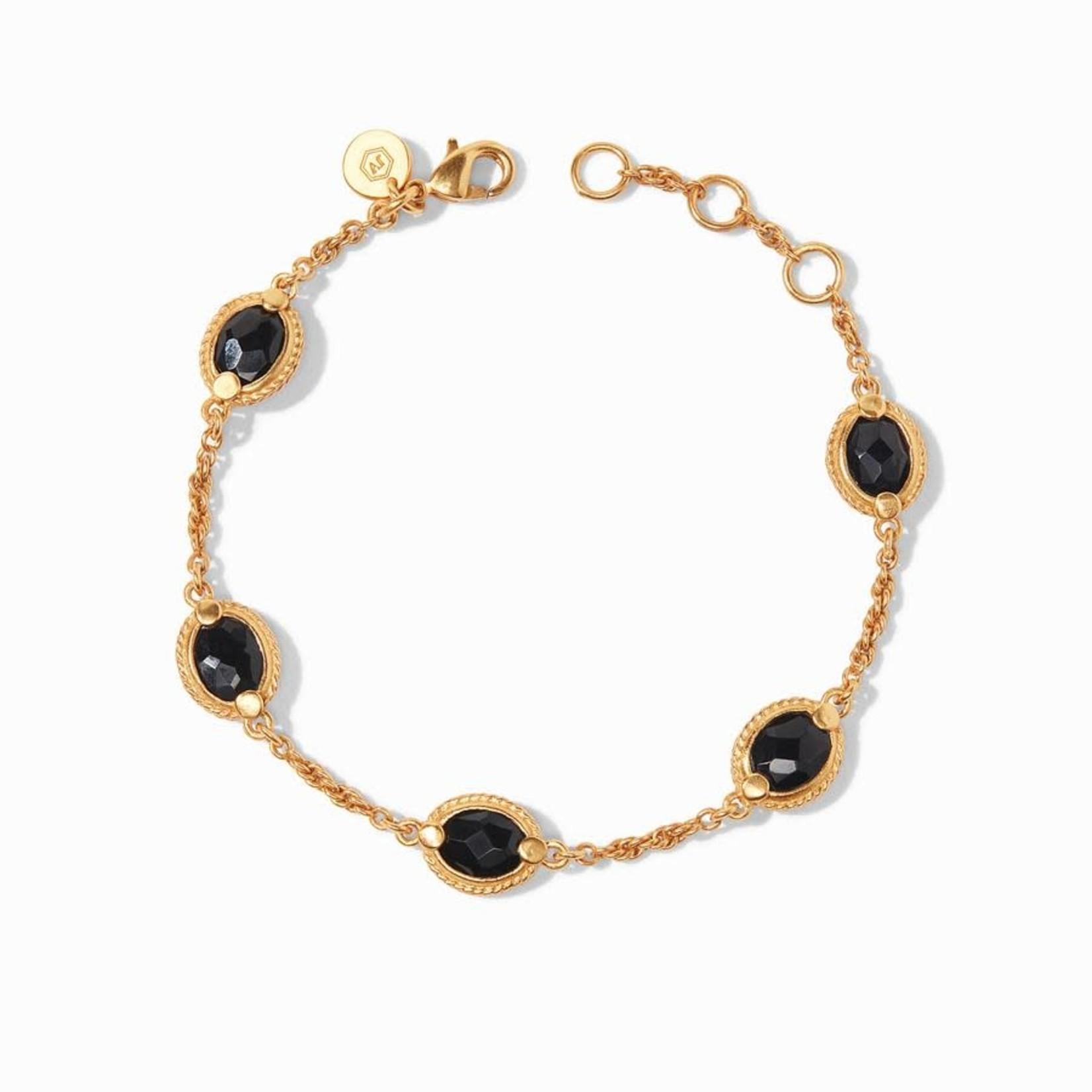 Calypso Delicate Bracelet Obsidian by Julie Vos