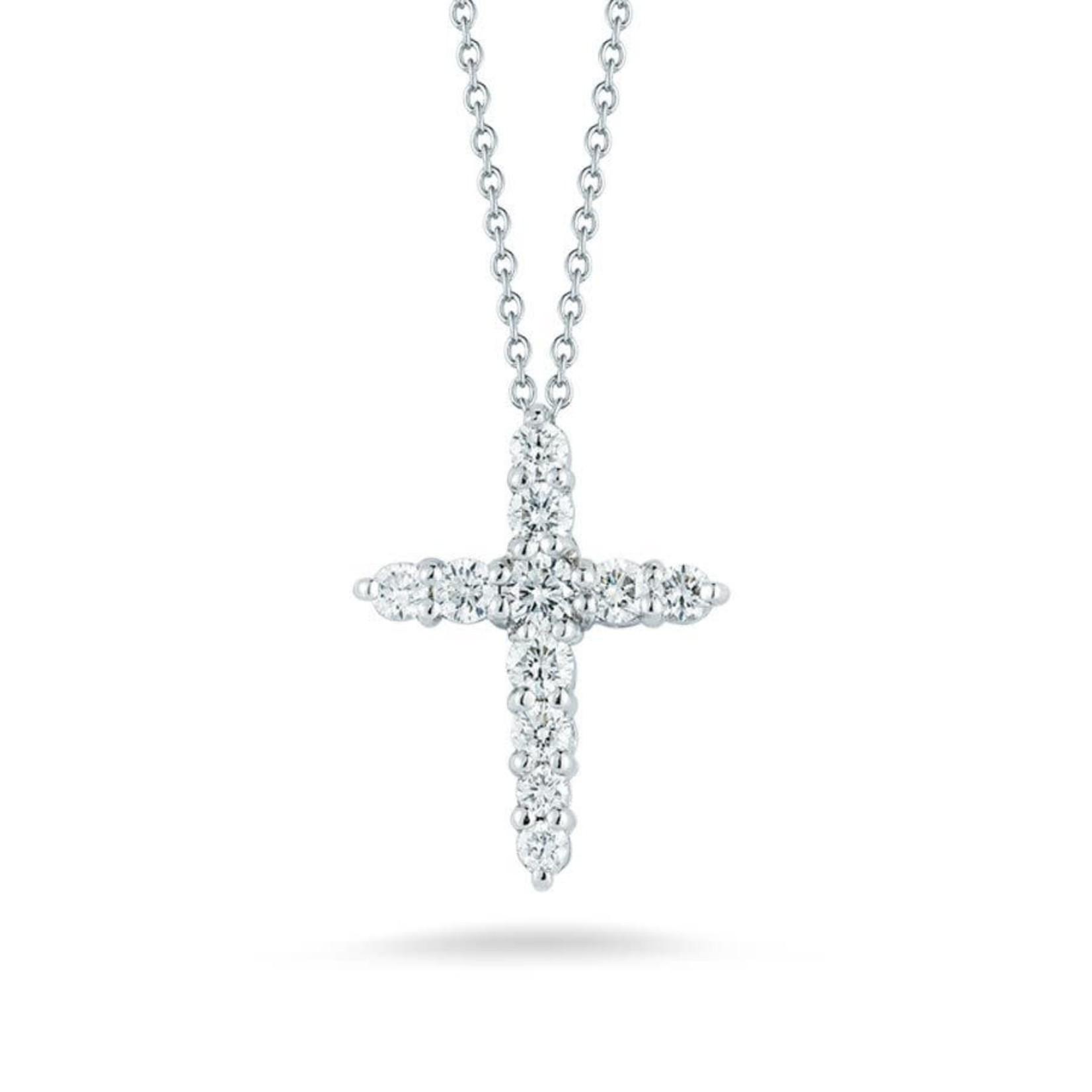 14KW Gold Diamond 0.35ctw Cross