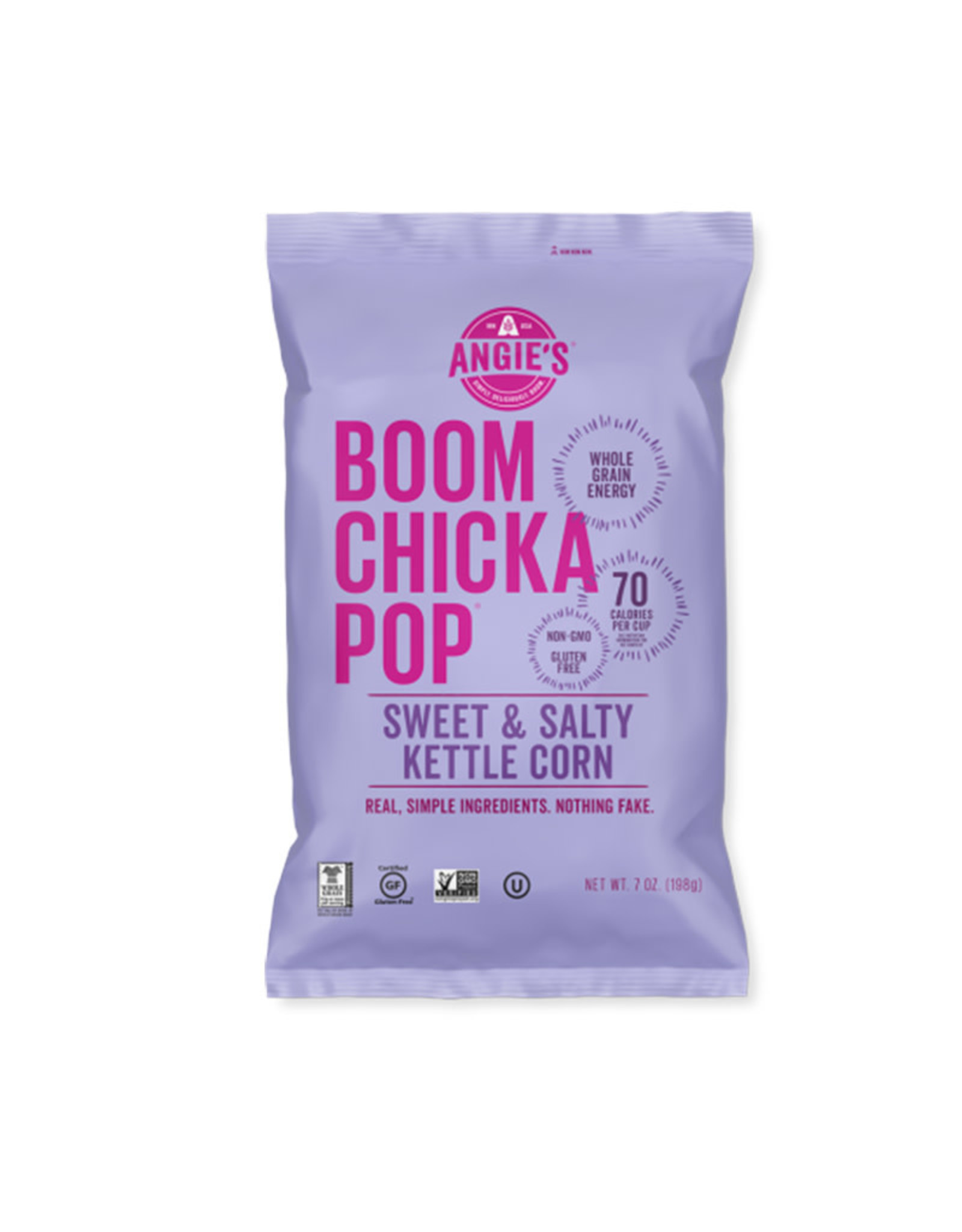 Angies BOOMCHICKAPOP Angie's BOOMCHICKAPOP - Popcorn, Sweet & Salty (198g)