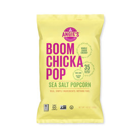 Angies BOOMCHICKAPOP Angies BOOMCHICKAPOP - Popcorn, Sea Salt (136g)