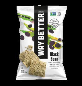 Way Better Way Better - Tortilla Chips, Black Bean (156g)