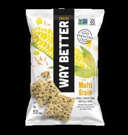 Way Better Way Better - Tortilla Chips, Multi Grain (156g)