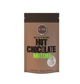 COCO COCO - Organic Hot Chocolate, Matcha (150g)