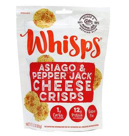 Whisps Whisps - Cheese Crisps, Asiago & Pepper Jack