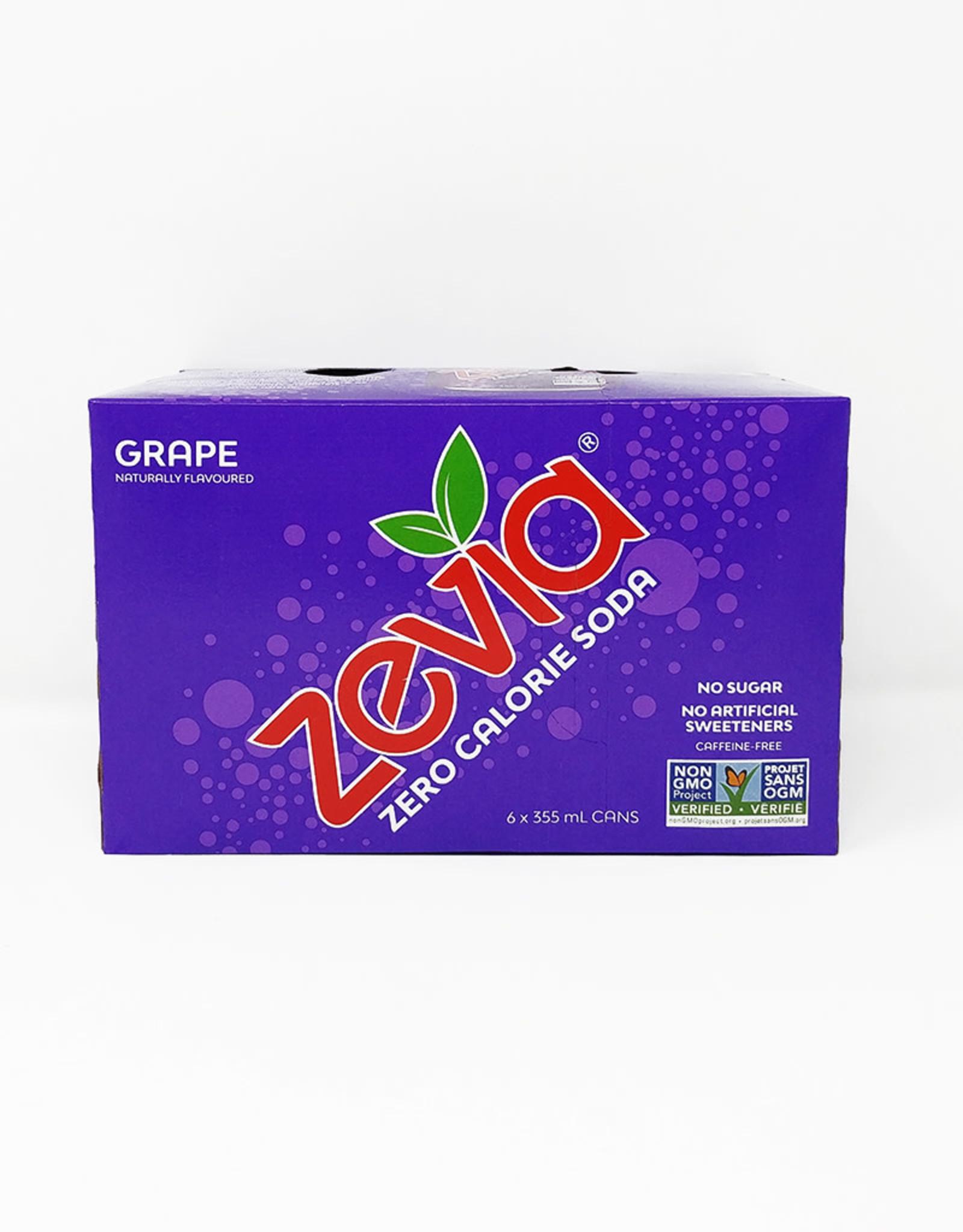 Zevia Zevia - Soda, Grape (6pk)