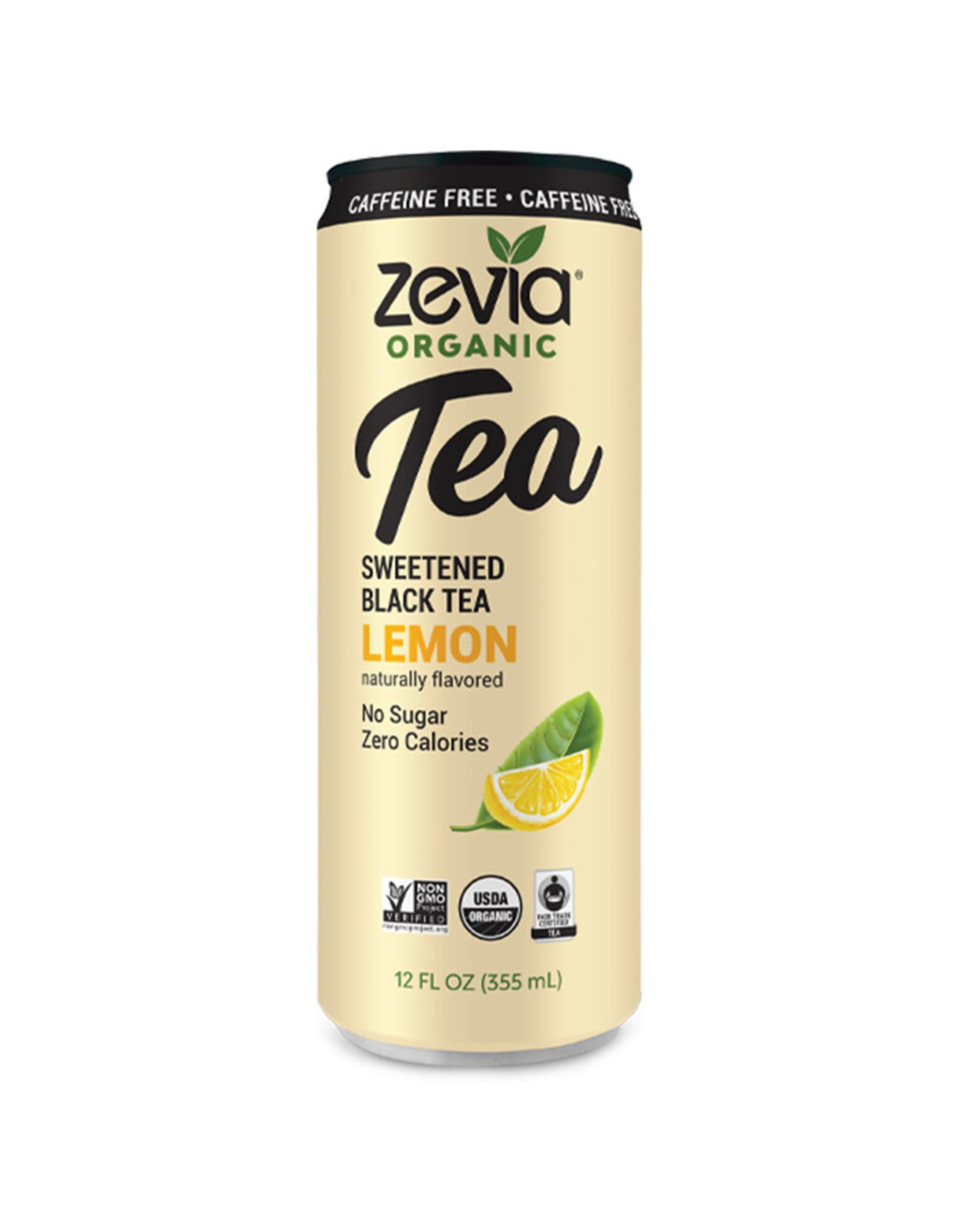 Zevia Zevia - Tea, Lemon Black (355ml)
