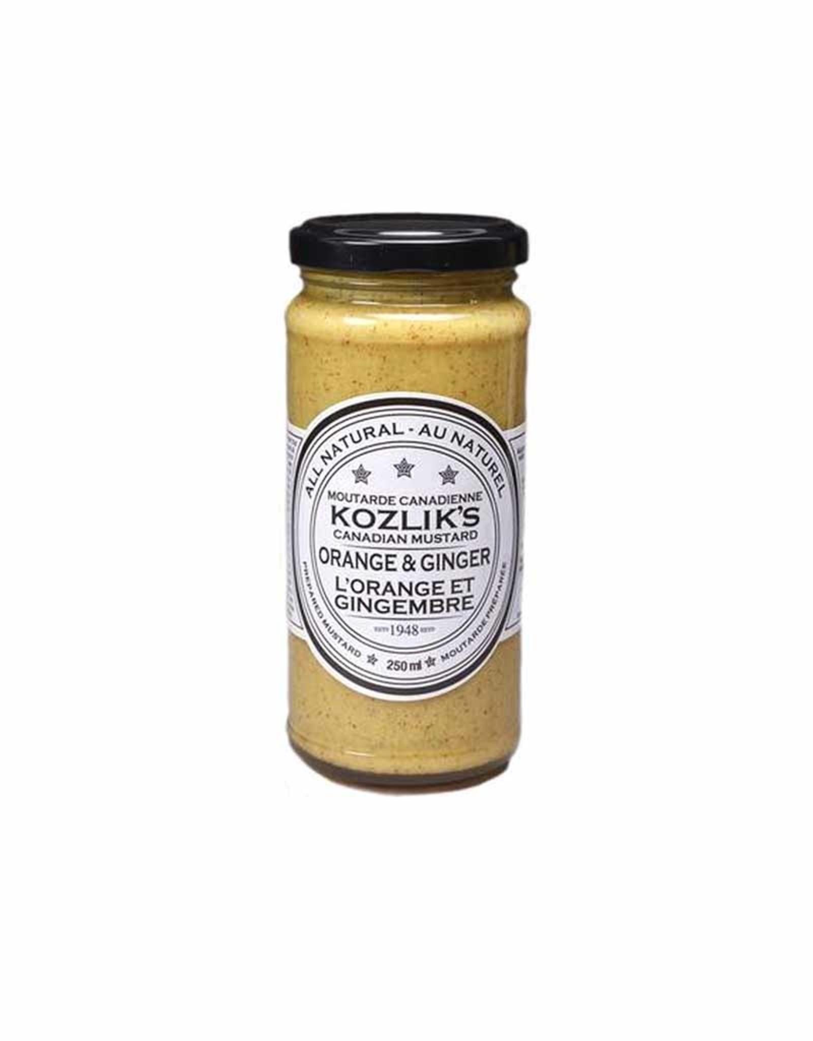 Kozliks Kozlik's - Mustard, Orange & Ginger (250ml)