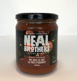 Neal Brothers Neal Brothers - Organic Salsa, Oh This Is Hot (410ml)