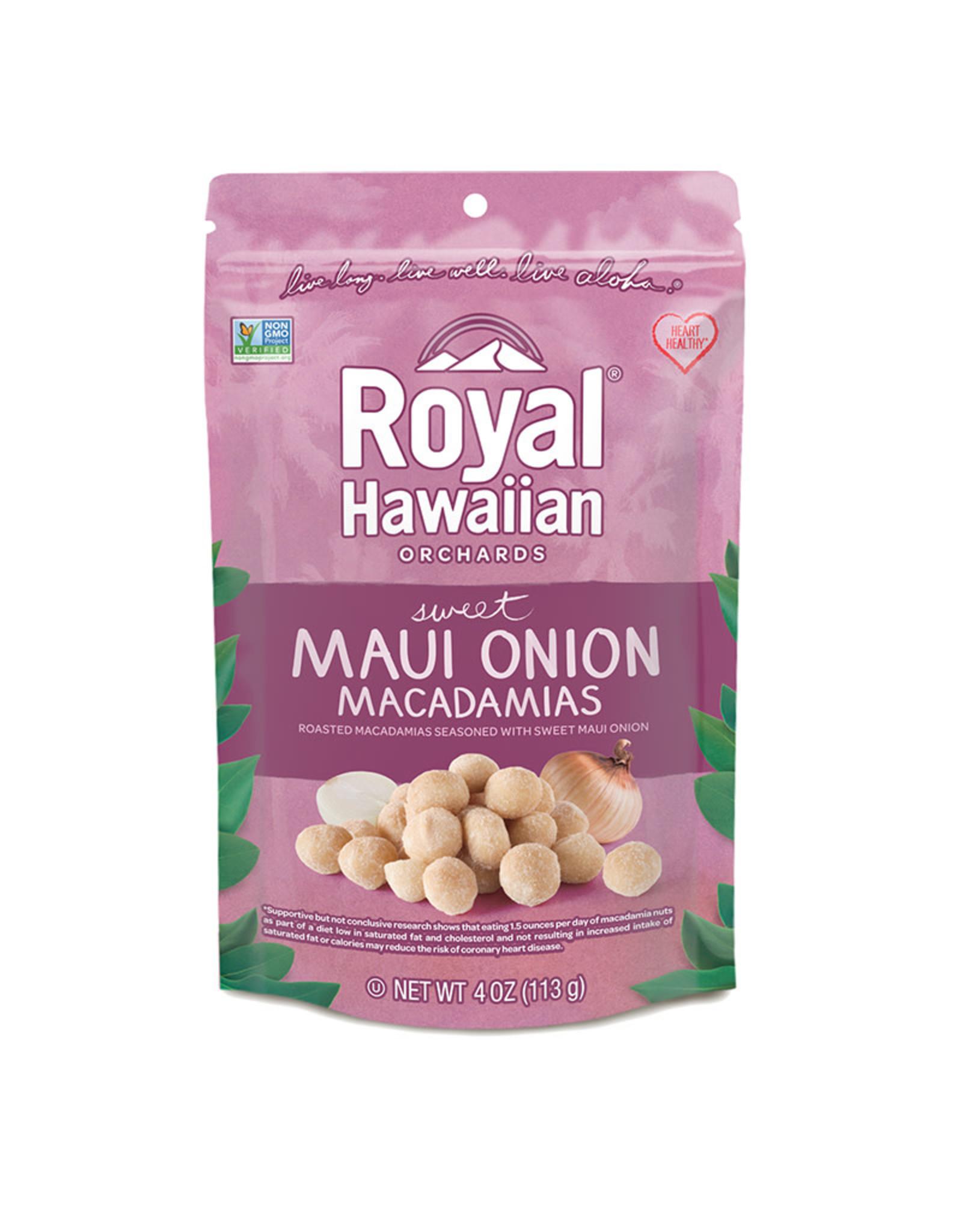 Royal Hawaiian Orchards Royal Hawaiian Orchards - Macadamia Nuts, Sweet Maui Onion (113g)