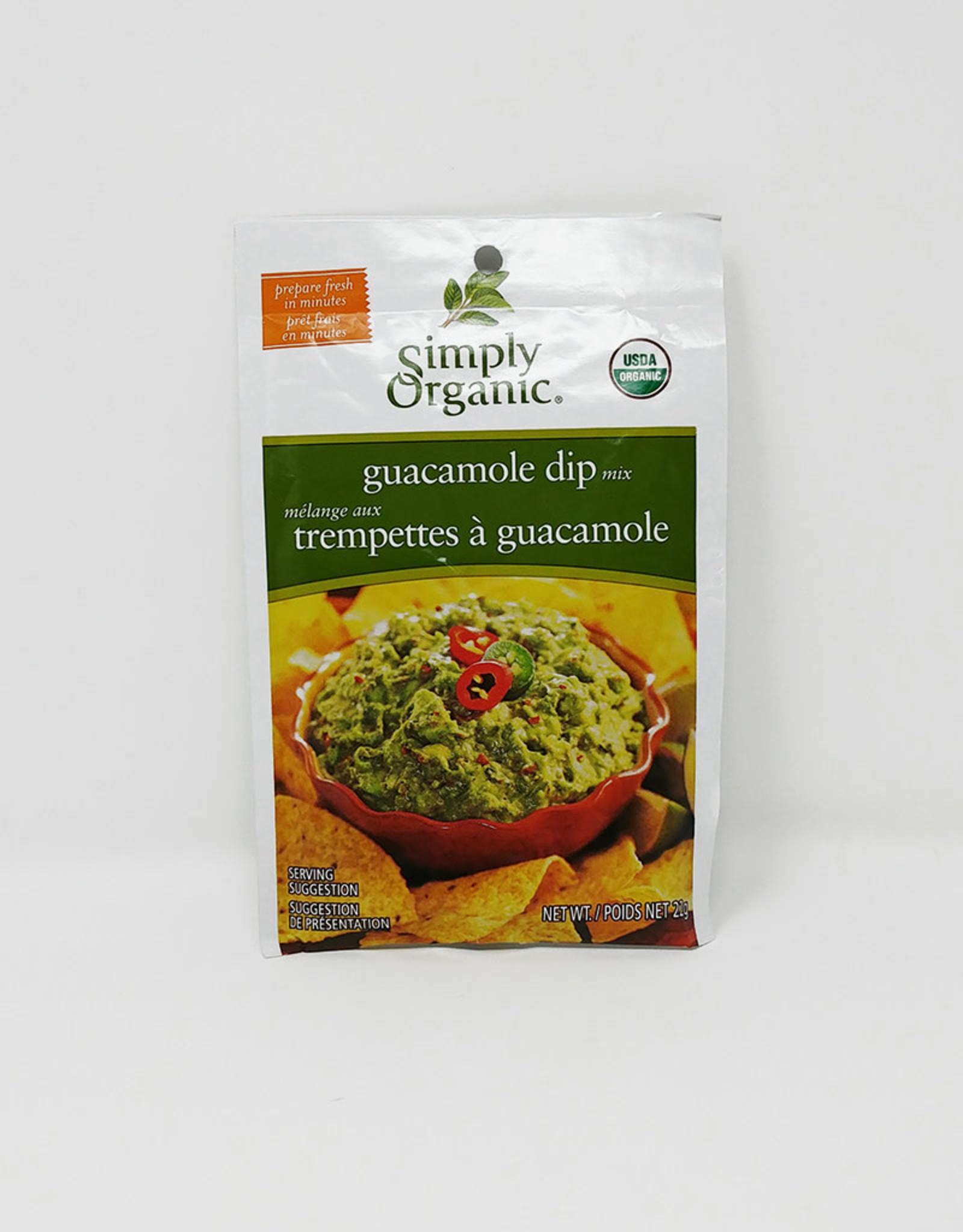 Simply Organic Simply Organic - Dip Mixes, Guacamole