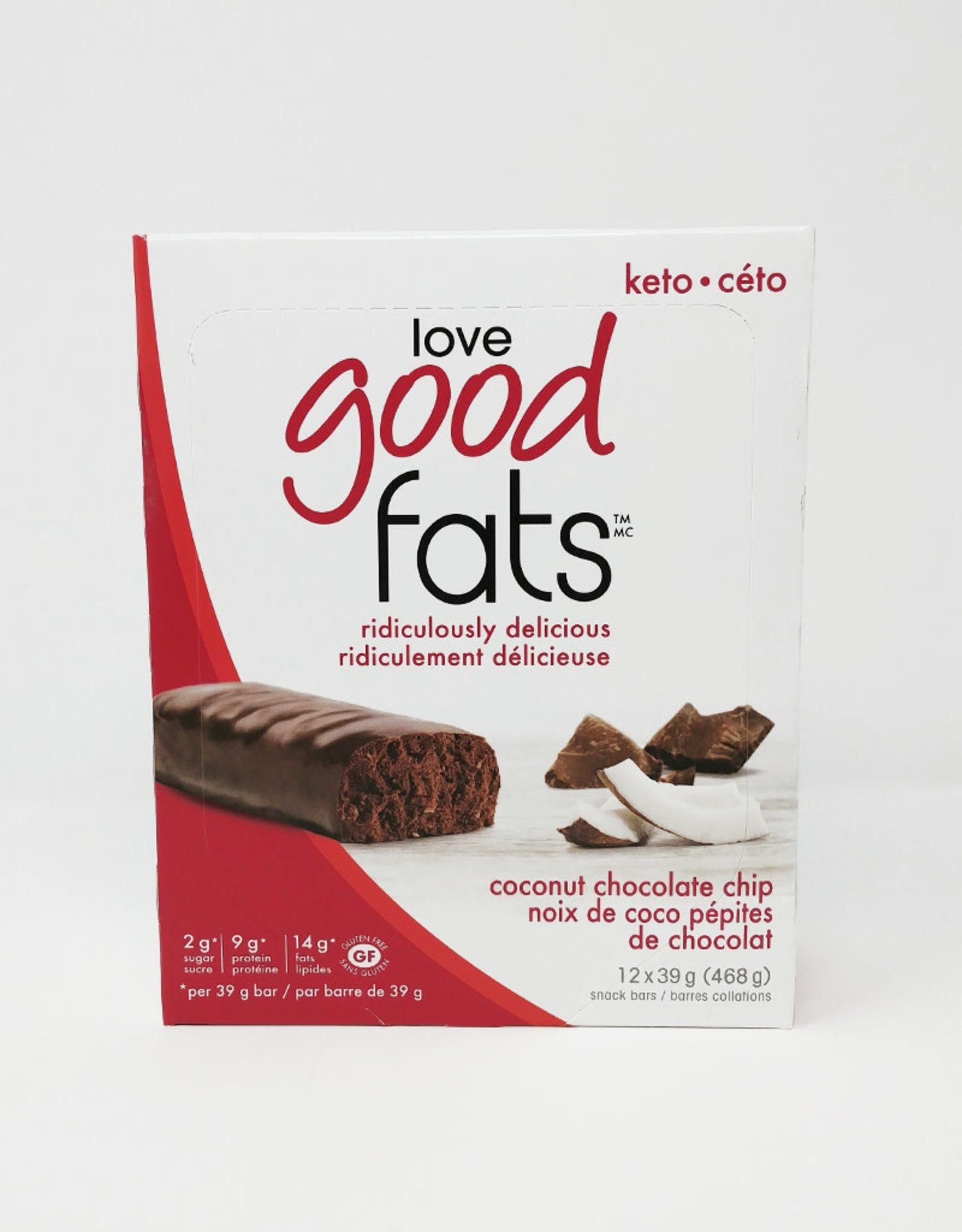 Love Good Fats Love Good Fats - Coconut Chocolate Chip (Box)