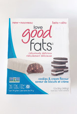 Love Good Fats Love Good Fats - Cookies & Cream (Box)