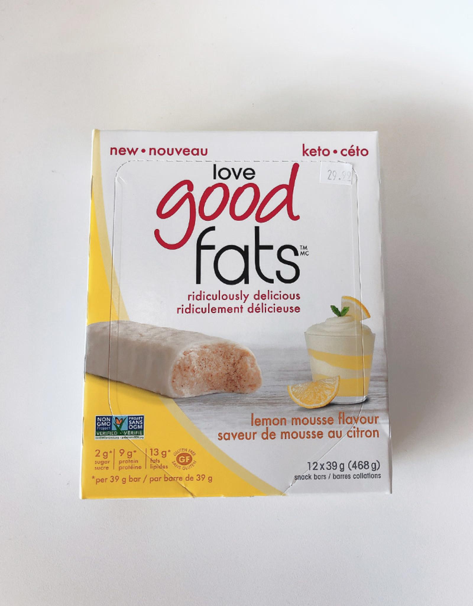 Love Good Fats Love Good Fats - Lemon Mousse (Box)