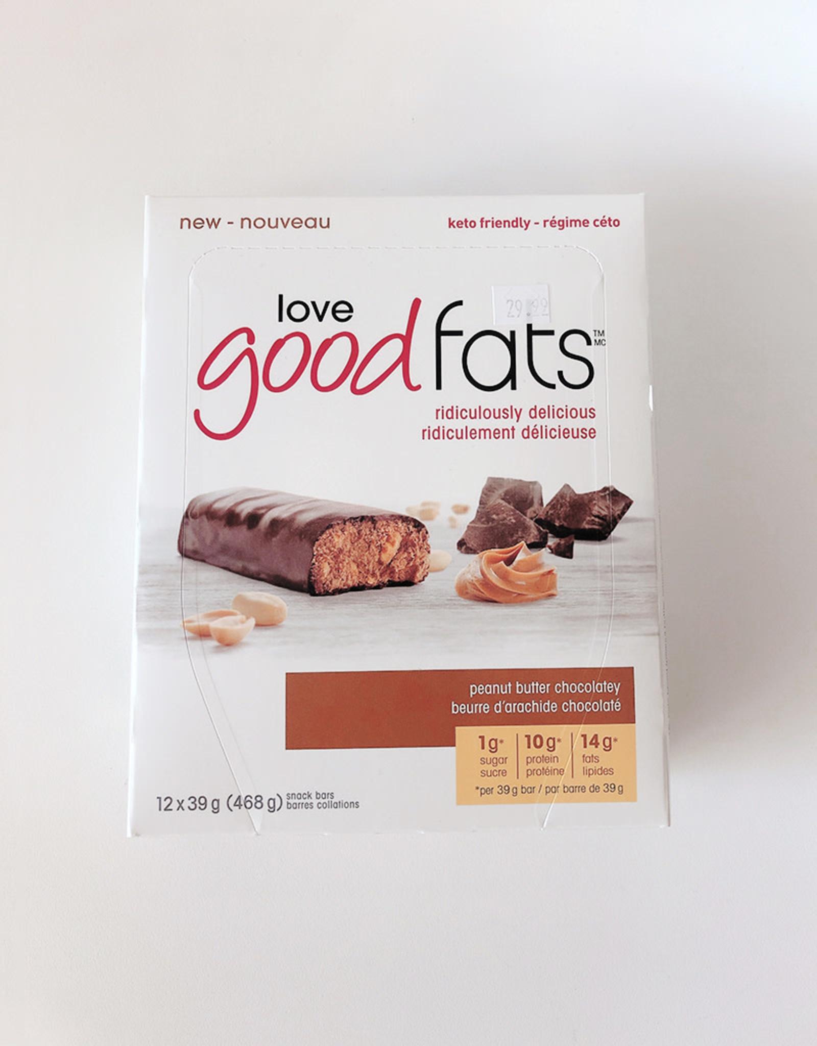 Love Good Fats Love Good Fats - Peanut Butter Chocolatey (Box)
