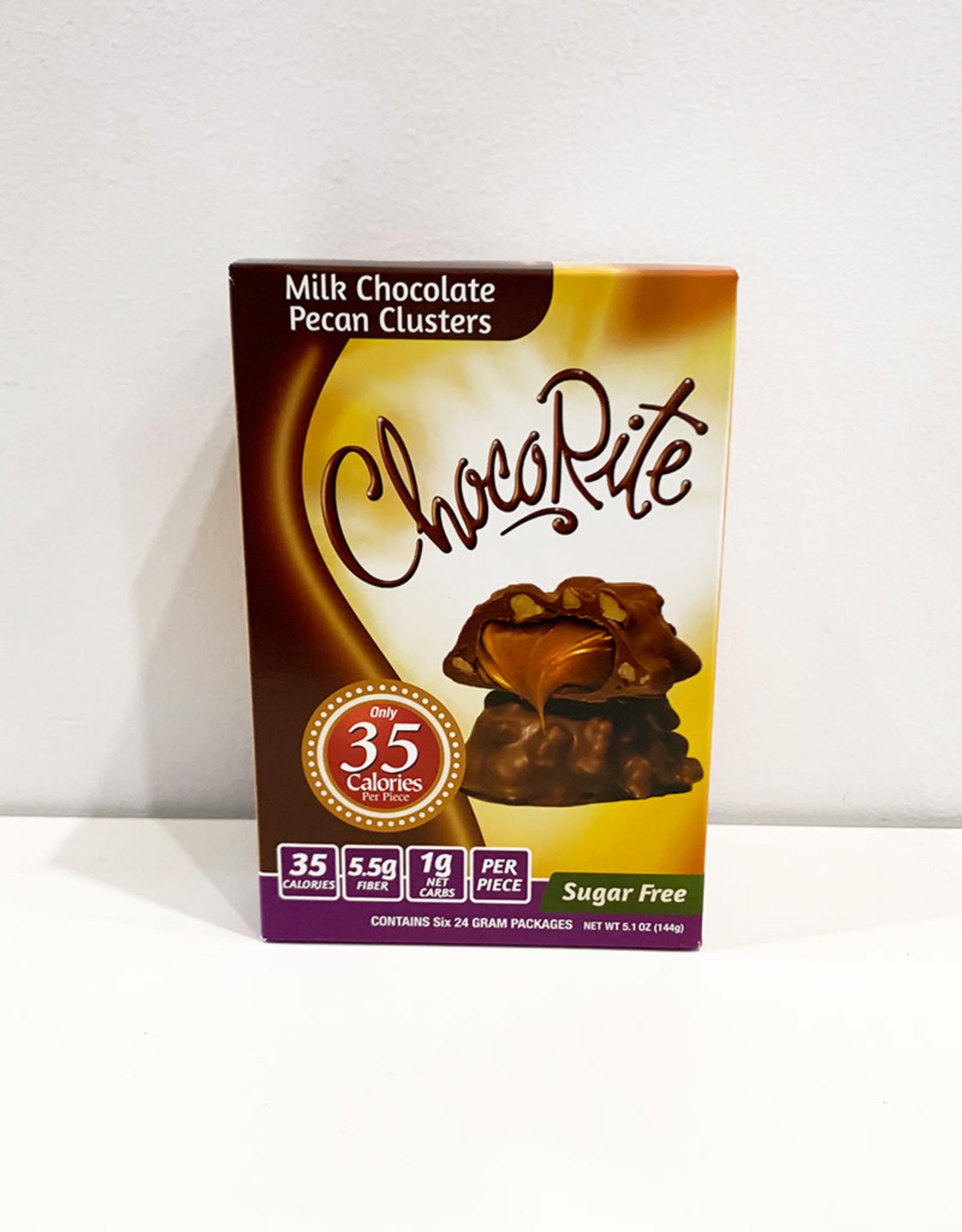 ChocoRite ChocoRite - Bars, Milk Chocolate Pecan Cluster (144g 6pk)