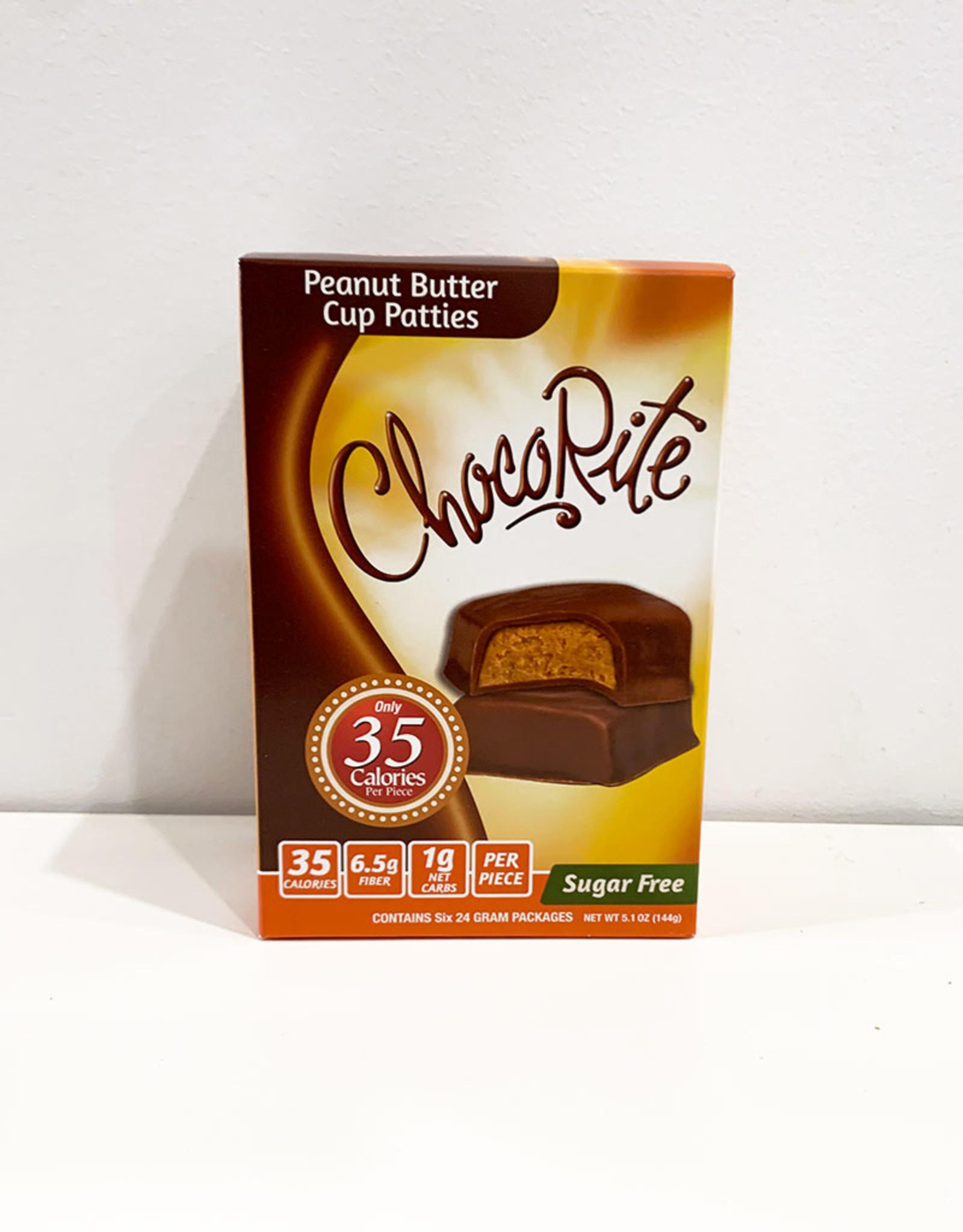 ChocoRite ChocoRite - Bars, Peanut Butter Cup Patties (144g 6pk)