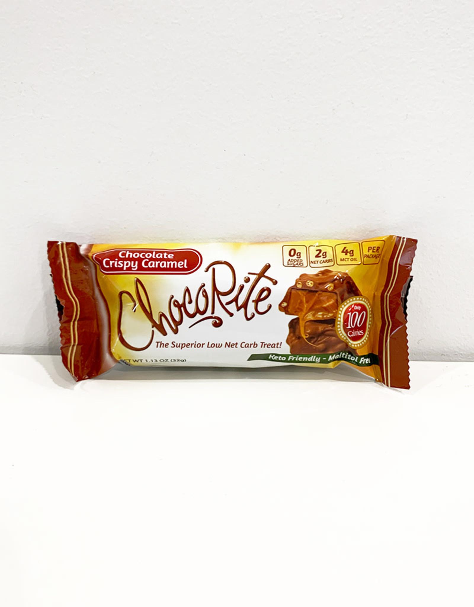ChocoRite ChocoRite - Bars, Chocolate Crispy Caramel (32g)