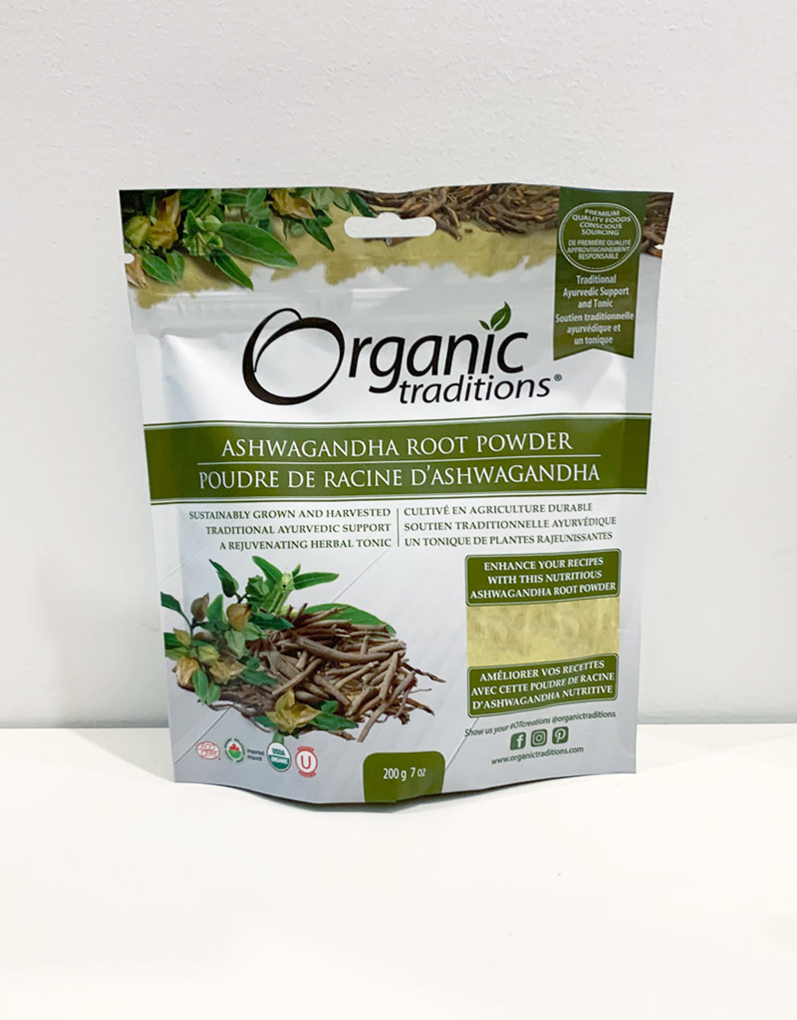 Organic Traditions Organic Traditions - Ashwagandha Powder (200g)