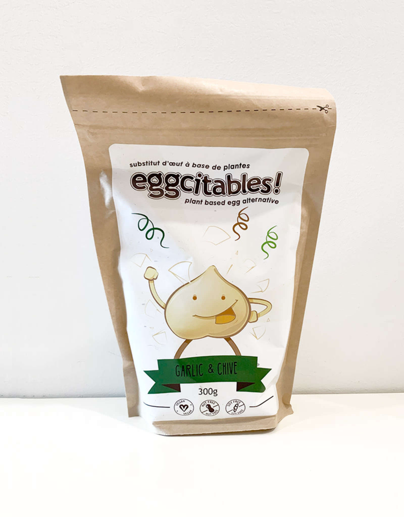 Eggcitables! Eggcitables Alternative - Garlic & Chive (300g)
